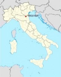 Ferrara-map