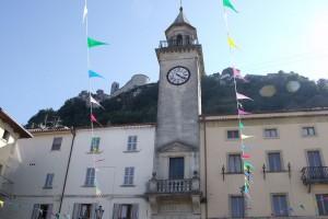 Torre dell'Orologio, Borgo Maggiore