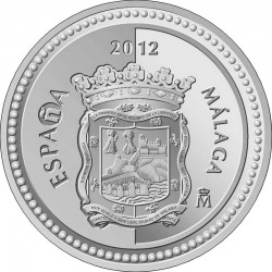 Spain 2012. 5 euro. Malaga
