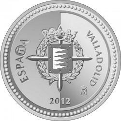 Spain 2012. 5 euro.Valladolid