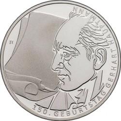 Germany 2012. 10 euro. Gerhart Hauptmann