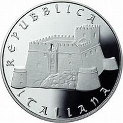 Italy 2012. 5 euro. Italy of Arts. Campobasso