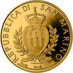 San Marino 2012. 20 euro. Elementi architettonici sammarinesi. Borgo Maggiore
