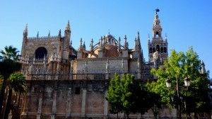 Cathedral of Seville. Giralda