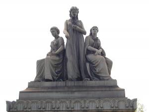 Faith Hope Charity monument