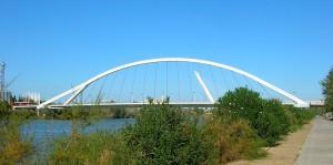 Мост Баркета (Puente de la Barqueta)