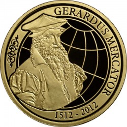 Belgium 2012. 100 euro. Gerhardus Mercator