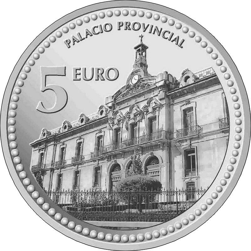 Монета испании 5 евро 2012г толедо ворота солнца 1 злотый 1980
