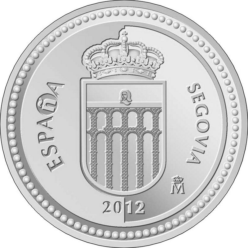 Монета испании 5 евро 2012г толедо ворота солнца 34 ссср рф