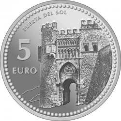 Spain 2012. 5 euro. Toledo