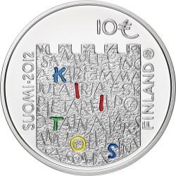 Finland 2012. 10 euro. Arvo Ylppö and Medicin