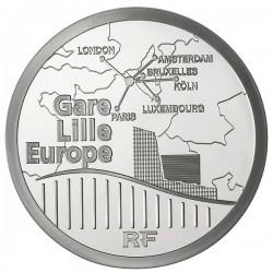 France 2010. 10 euro. Gare de Lille-Europe