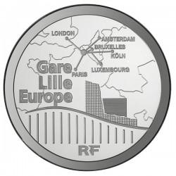 France 2010. 20 euro. Gare de Lille-Europe