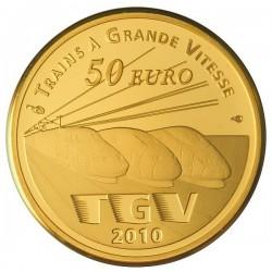 France 2010. 50 euro (gold). Gare de Lille-Europe