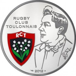 France 2012. 10 euro. Rugby Club Toulonnais