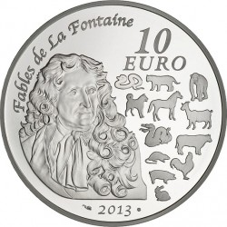 France 2012. 10 euro. serpent