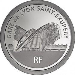 France 2012. 20 euro. Gare de Lyon Saint-Exupe'ry