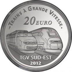 France 2012. 10 euro. Gare de Lyon Saint-Exupéry