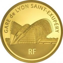 France 2012. 200 euro. Gare de Lyon Saint-Exupéry