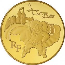 France 2012. 10 euro. Chat Botté