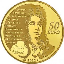 France 2012. 50 euro. Chat Botté