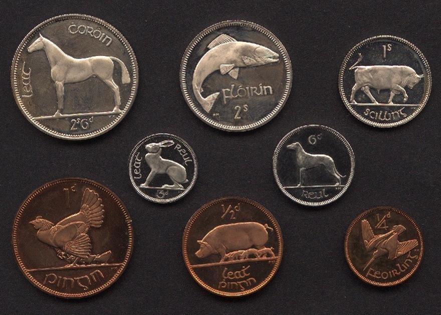 Монеты ирландии до евро полушка магазин каталог