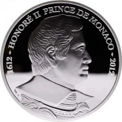 Monaco 2012. 10 euro. Honoré II.