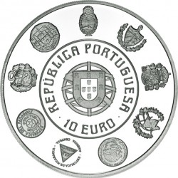 """Portugal 2012. 10 euro. XX Aniversário da Série """"Ibero-Americana"""""""