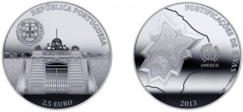 Portugal 2013. 2.5 euro. Elvas