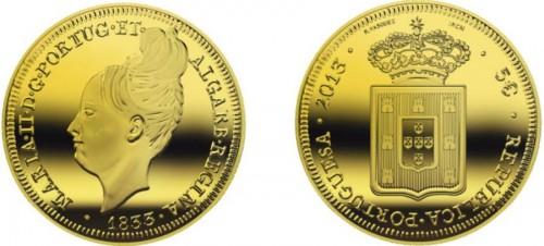 Portugal 2013. 2.5 euro. Maria