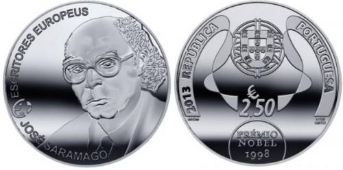 Portugal 2013. 2.5 euro. Saramago