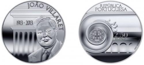 Portugal 2013. 2.5 euro. Villaret
