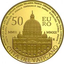 vatican 2012 50 euro