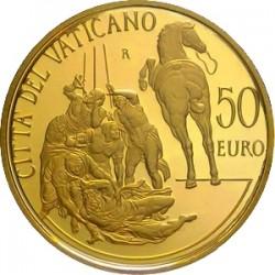 Vatican 2012. 50 euro. Conversione di Saulo