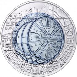 Austria 2013. 25 euro. Tunnelbau
