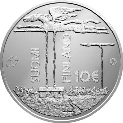 Finland 2013. 10 euro. Sillanpaa