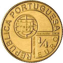 Portugal 2013. 0.25 euro. Antero Tarquínio de Quental