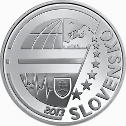 Slovakia 2013. 10 euro. National Bank of Slovakia