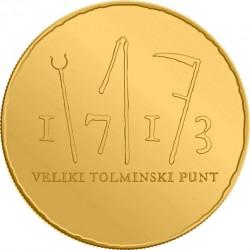 Slovenia 2013. 100 euro. Tolmin peasant revolt, 1713