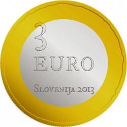 Slovenia 2013. 3 euro. Tolmin peasant revolt, 1713
