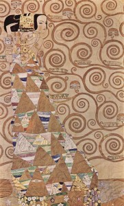 Klimt Stoclet Frieze Expectation