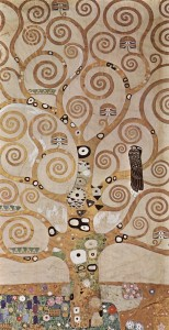 Klimt Stoclet Frieze Tree of Life