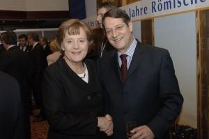 Nicos Anastasiades Angela Merkel