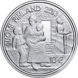 finland 2013 10 euro Sophie Mannerheim av