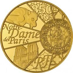 France 2013. 5 euro. Notre Dame de Paris