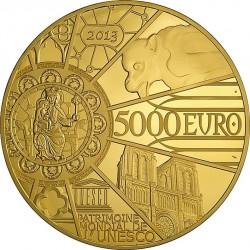 France 2013. 5000 euro. Notre Dame de Paris