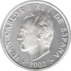 Spain 2002. 10 euro. XIX Winter Olympics - Salt Lake City