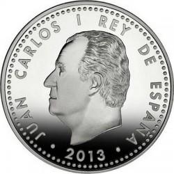 Spain 2013. 10 euro. Cervantes