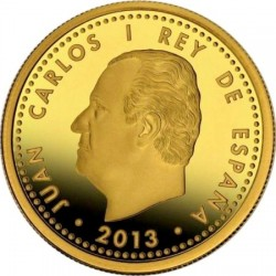 Spain 2013. 200 euro. Cervantes
