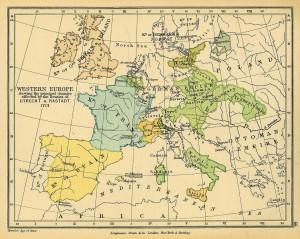 Europe from Utrecht Treaty